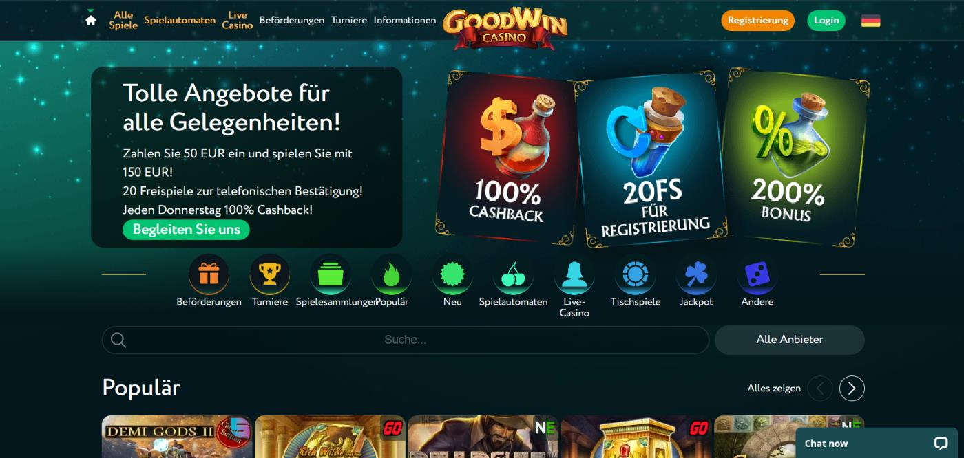 goodwin casino Startseite