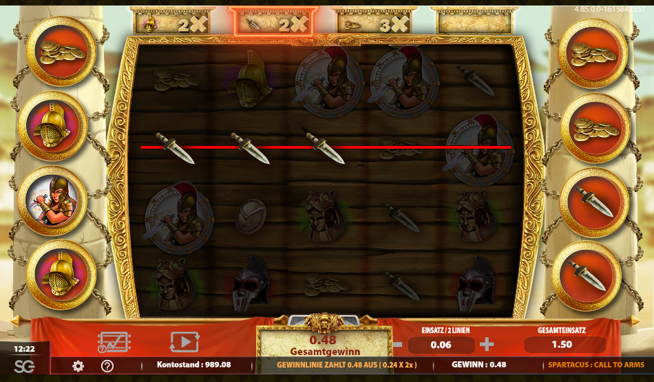 Spartacus call to arms 1