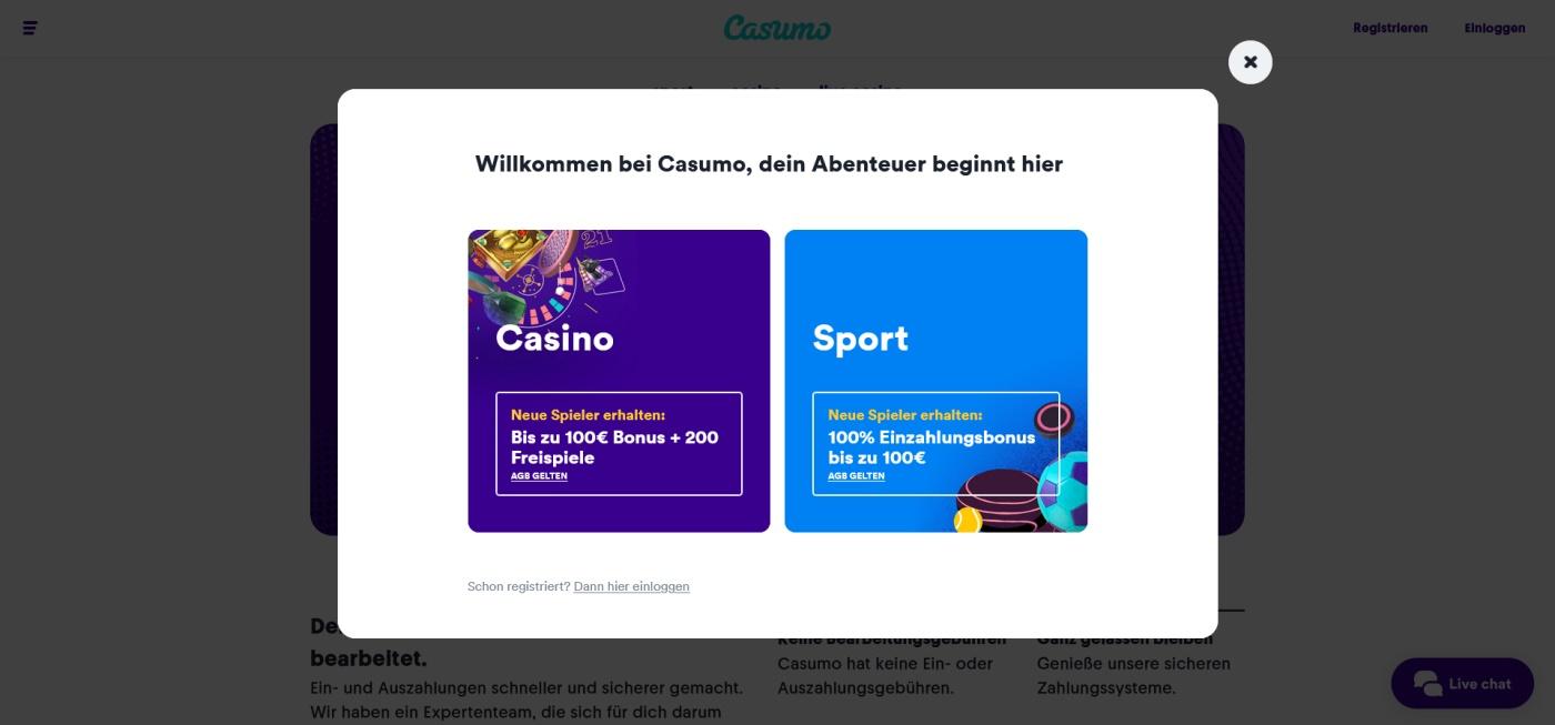 Casumo Online Casino 1